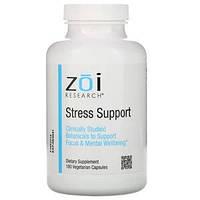 Антистрессовое средство, Stress Support ZOI Research, 180 вегетарианских капсул
