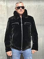 Чоловіча куртка з бобра, розміри в наявності, фото 1
