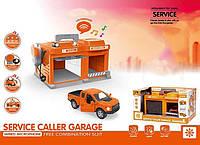 """Гараж """"Сервисная станция"""" CLM - 559 (8) рация, свет, звук, в коробке"""