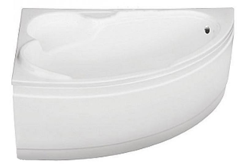 Ванна акриловая BIANKA 150*95 Besco левая (соло) без панели и ручек (без отверстий под ручки)
