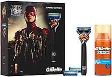 Подарунковий набір для чоловіків Gillette Fusion Pro Glide Razor Justice League Limited Edition Жилет Ф'южн 5 Про