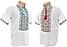 Рубашка Вышиванка для мальчиков короткий рукав р.140-176, фото 3