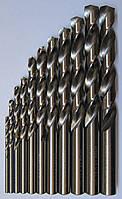 Набор сверл по металлу ц/х под резьбу из 7-ми штук 1.6мм, 2.5мм, 3.3мм, 4.2мм, 5.0мм, 6.8мм, 8.5мм в
