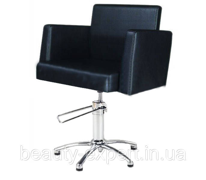 Кресло парикмахерское на гидравлике для клиента Jordan VM814
