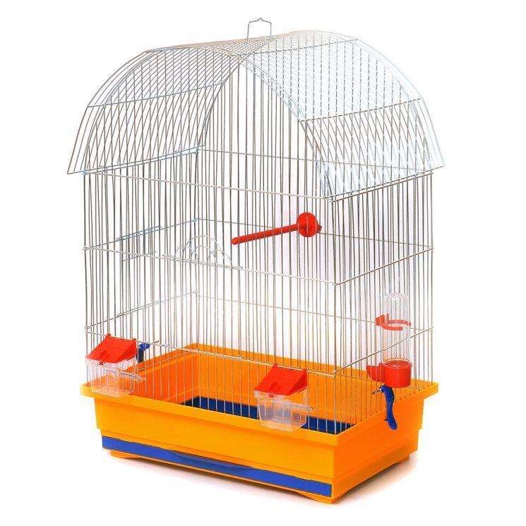 "Клетка для птиц Лори ""Виола"" цинк 48*31*66 см"