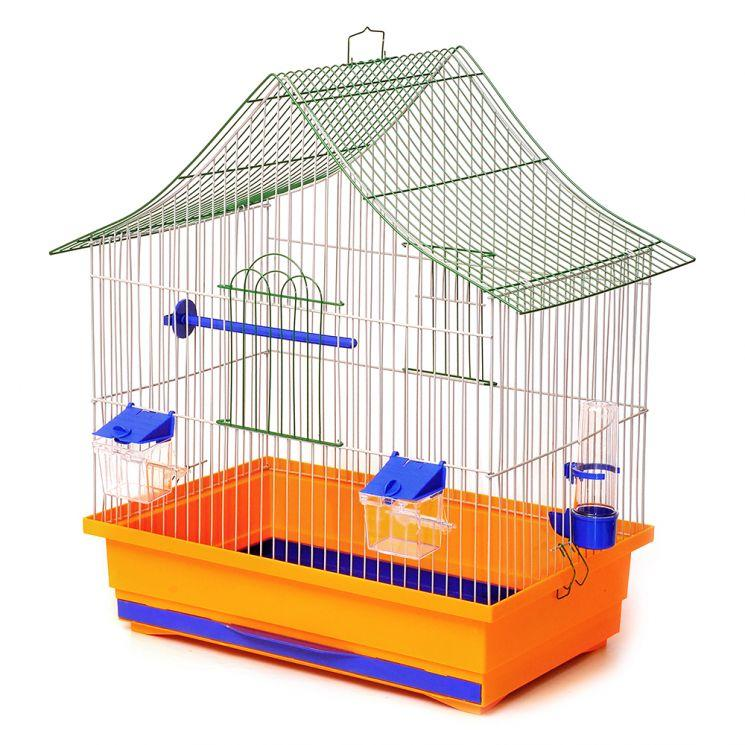 """Клетка для птиц Лори """"Алиса"""" краска 47*30*54 см"""
