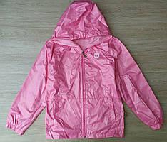Дитяча куртка-вітровка 9-12 років для дівчаток оптом Туреччина