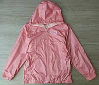 Детская куртка-ветровка 9-12 лет для девочек Турция оптом