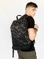 Рюкзак городской спортивный мужской | женский сумка портфель с принтом Intr хаки камуфляж
