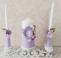 Свадебные свечи с монограммой, фото 1
