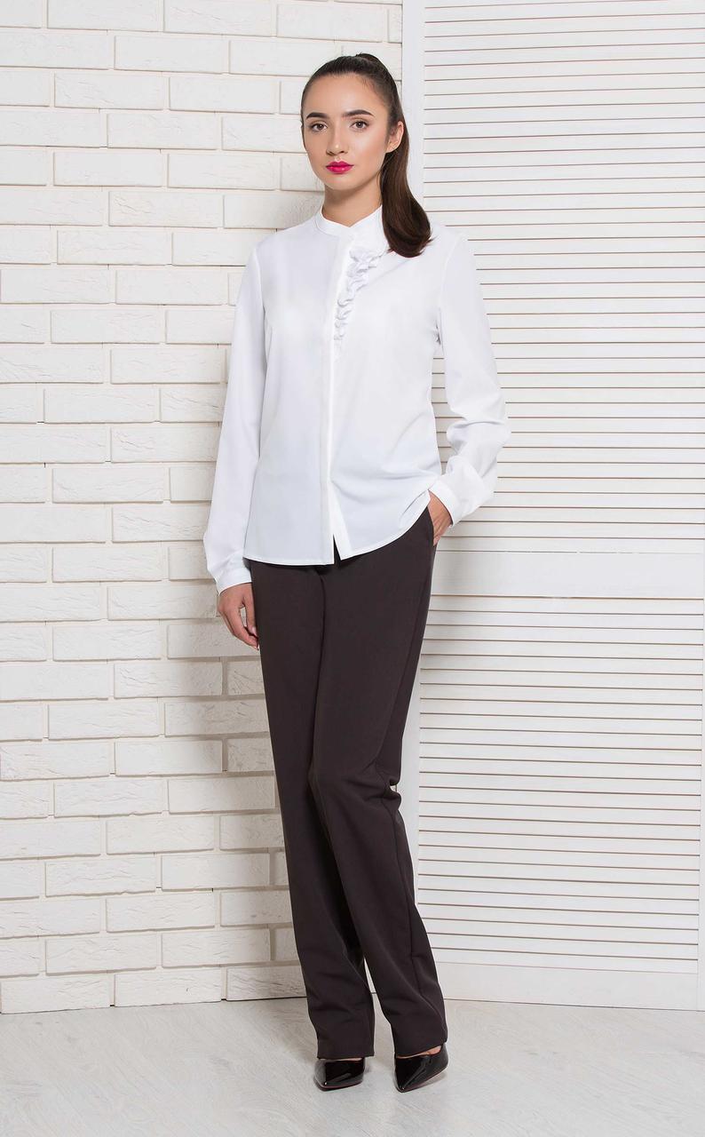 Блуза BerdToni Агостина  белая 8781-4