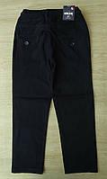 Школьные брюки 10-13 лет для мальчиков Турция оптом синие