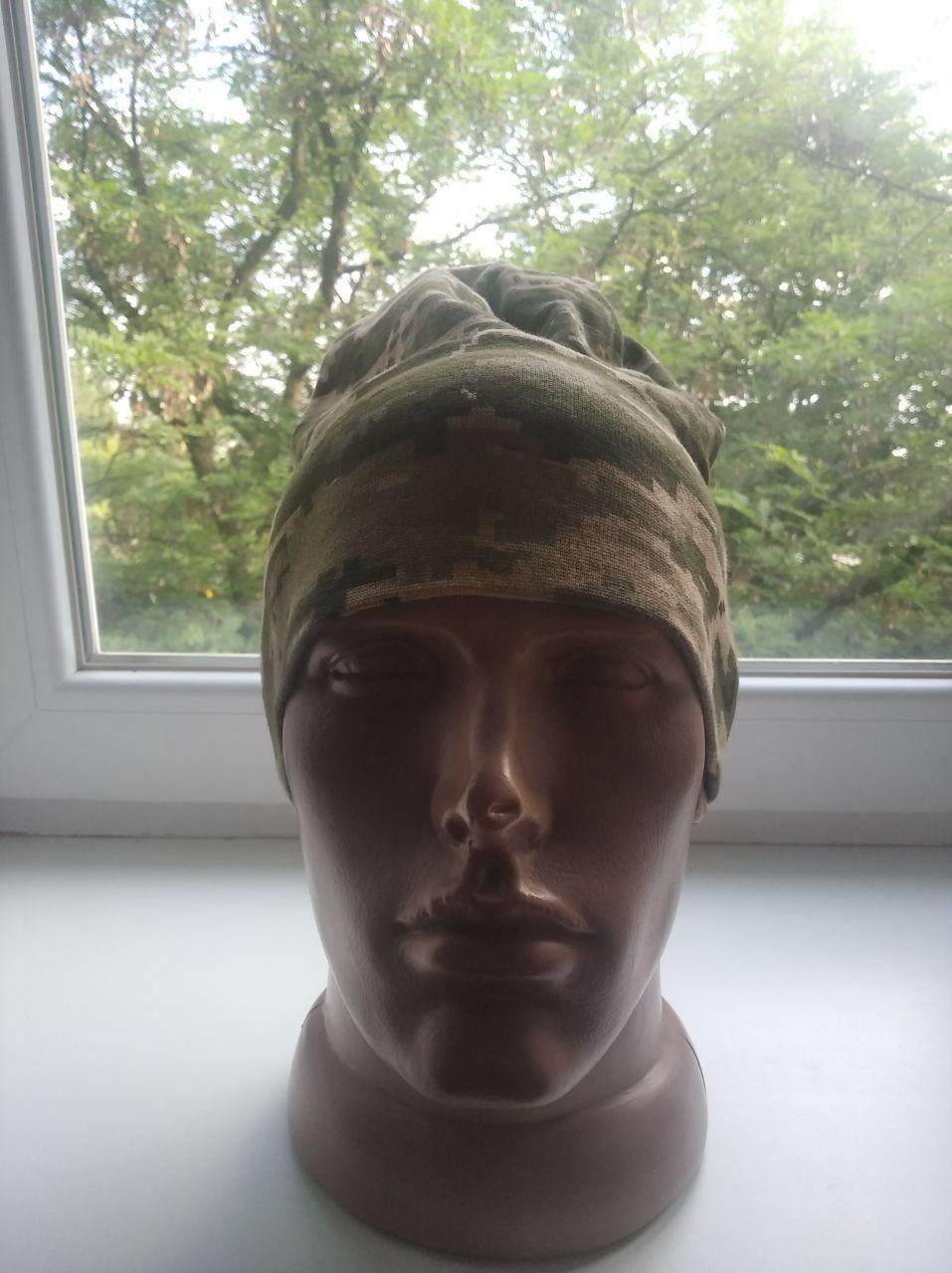 Военная мужская шапка (пиксель)