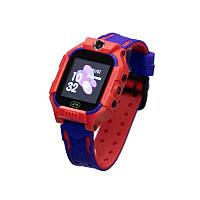 Смарт Часы-телефон детские  Z6 (Красный)