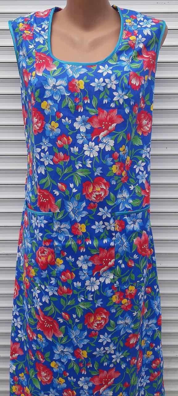 Платье без рукава большого размера 62 размер