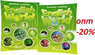 Англійська мова / English World / student's+Workbook. Підручник+Зошит (комплект), 4 / Macmillan