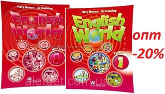 Англійська мова / English World / student's+Workbook. Підручник+Зошит (комплект), 1 / Macmillan