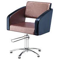 Парикмахерское кресло на хромированном основании Gloria VM815
