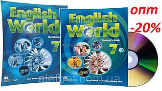 Англійська мова / English World / student's+Workbook. Підручник+Зошит (комплект), 7 / Macmillan