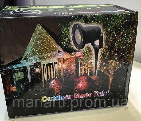 Лазерный проектор Outdoor Laser Light 8002
