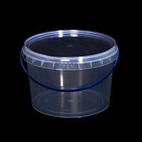 Ведро пластиковое пищевое, для меда 2,3 л. (100 шт.)