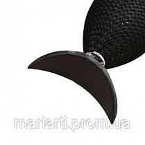 Силиконовый штамп SUNROZ Glittering Eyeshadow To Seal для нанесения теней Черный, фото 2