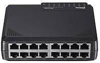 Коммутатор Netis ST3116P 16 Ports 10/100Mbps Fast Ethernet Switch (6059297)