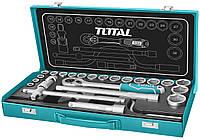 "Комплект насадок TOTAL THT141253 1/2"", 25 предметов (6325410)"