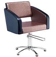 Кресло парикмахера на гидравлике парикмахерское кресло для стрижки Gloria