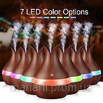 Аромадиффузор увлажнитель воздуха c подсветкой 7 LED, фото 3