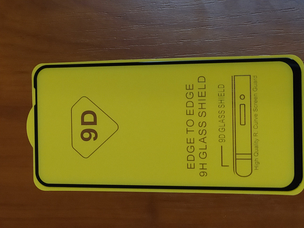 Захисне скло Full GLUE Huawei P40 Lite (чорне)