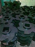 Резиновый диск фигурный, для технологического оборудования водоотделитель дисковой типа  ВДФ-6, ВДФ-3, ВДМ-15, фото 4