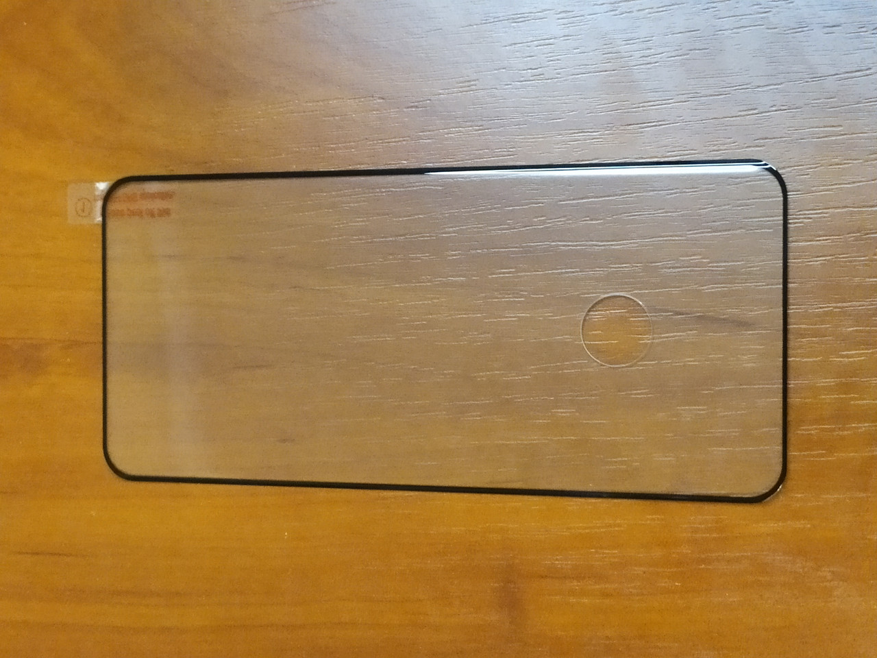 Захисне скло 3D Full GLUE Samsung S20 Plus зігнуте ( чорне )