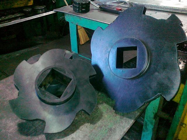 Резиновый диск фигурный, для технологического оборудования водоотделитель дисковой типа  ВДФ-6, ВДФ-3, ВДМ-15