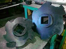 Гумовий диск фігурний, для технологічного обладнання водороздільники дискової типу ВДФ-6, ВДФ-3, ВДМ-15