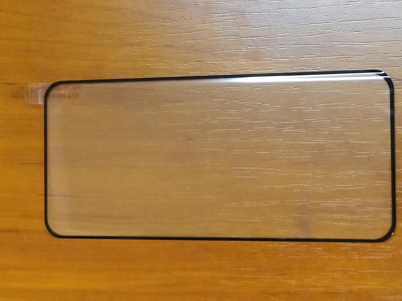 Защитное стекло 3D   Full GLUE  Xiaomi Mi 10 / Mi 10 Pro    изогнутое   ( черное )