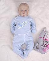 Сорочечки для немовлят на кнопках-застібках
