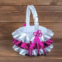 Свадебная корзинка для лепестков роз (арт. BP-019)