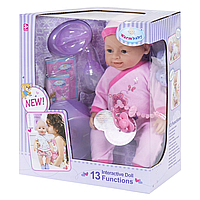 "Кукла Реборн (пупс) девочка ""Warm Baby"" 13 функций"