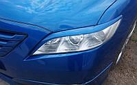 Реснички на фары Toyota Camry 2006-2011 v40, фото 1