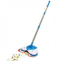 Супер веник Spin Broom Two Brushes Original NEW (механический)
