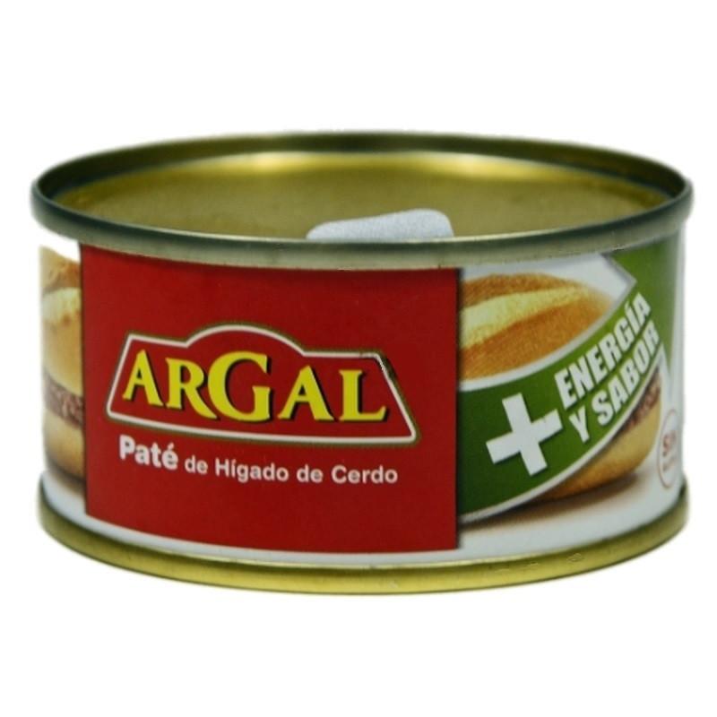Паштет из свиной печени Argal Pate de Higadode Cerdo без глютена крупного помола 83 г Испания