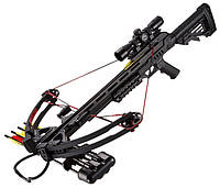 Арбалет винтовочного типа Man Kung XB52 Stalker (длина: 910мм, сила натяжения: 18кг), черный, комплект