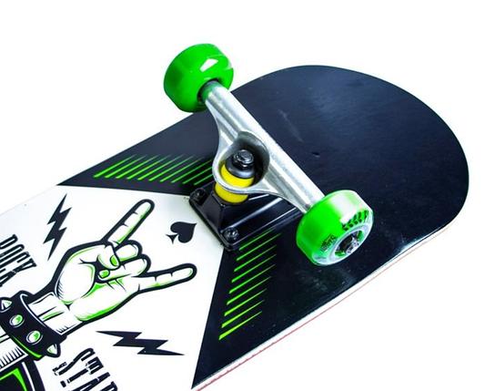 СкейтБорд деревянный от Fish Skateboard Rock Star, фото 2