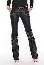 Брюки женские OMAT jeans 9275 лен черные