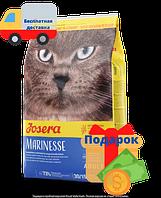 ЙОЗЕРА (Josera) Marinesse гипоаллергенный корм с лососем для кошек 10 кг