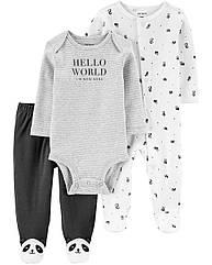 """Набор для новорожденного малыша Carter's """"Панда"""""""
