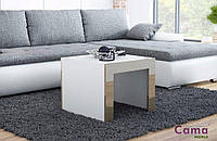 Журнальный стол TESS белый/латте 60х60 (Cama)