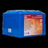 Аккумулятор LP LiFePo-4 12V - 90 Ah (BMS 80A) литий ионный для лодочных моторов, ИБП, Солнечной энергетики