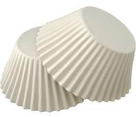 Формочки бумажные для кексов белые в ассортименте Черный